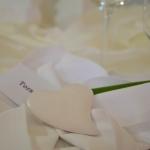 Tischdeko lila 4