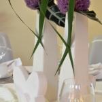 Tischdeko lila 5